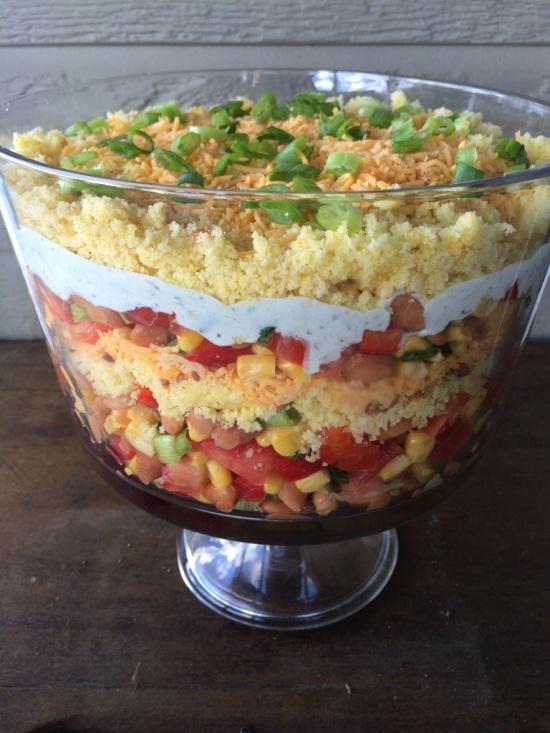 Delta Cornbread Salad