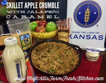 As seen on Chef Alli's Farm Fresh Kitchen as part of WIBW 13 News This Morning, Sept. 2014, sponsored by From the Land of Kansas.