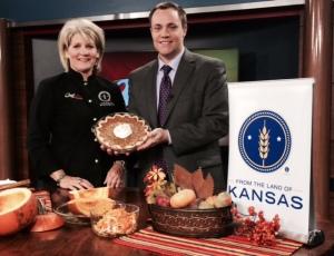 Pumpkin Cheesecake Pie, WIBW 13 News This Morning, Nov. 2014