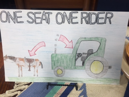 Kansas Farm Bureau Safety Poster Contest Winner