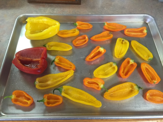 Par-Boiled Peppers