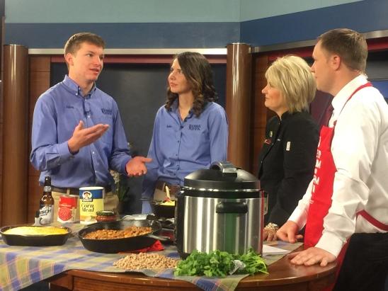 State FFA Officers Visit Chef Allis Farm Fresh Kitchen