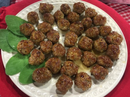 Maple Glazed Breakfast Meatballs | Chef Alli's Farm Fresh Kitchen