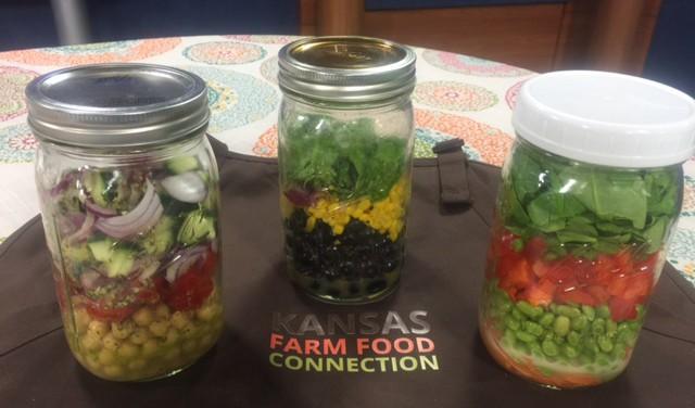 Summer Jar Salads
