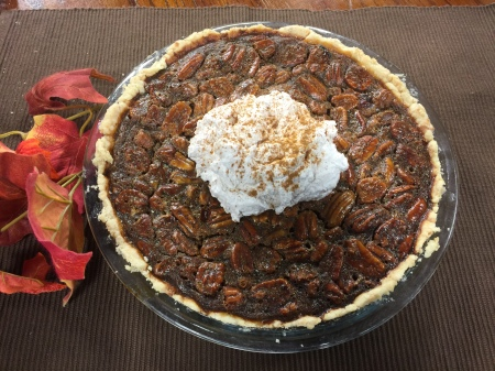 Pecan Pie with Cinnamon Whipped Cream | Chef Alli's Farm Fresh Kitchen