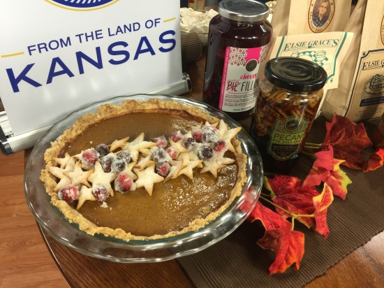 Dress up a store-bought pie with homemade goodies!