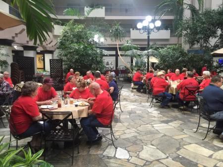 Red shirt visits