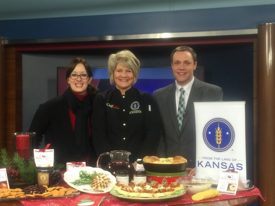 Merry Christmas from the Land of Kansas & WIBW