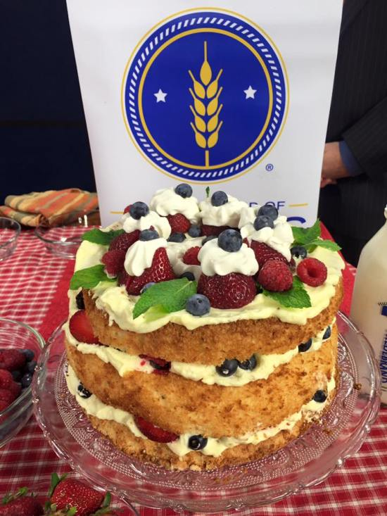 Red White and Boom cake