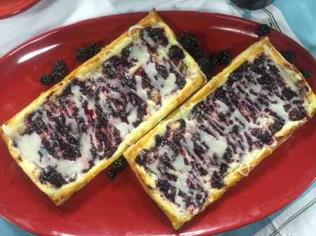 Blackberry Cream Cheese Breakfast Pastry