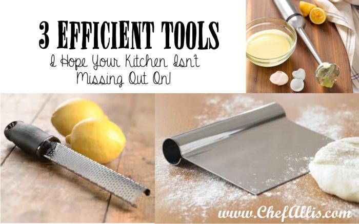 3 Efficient Tools