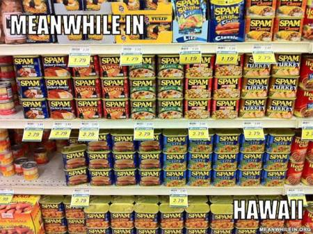Spam in Hawaii