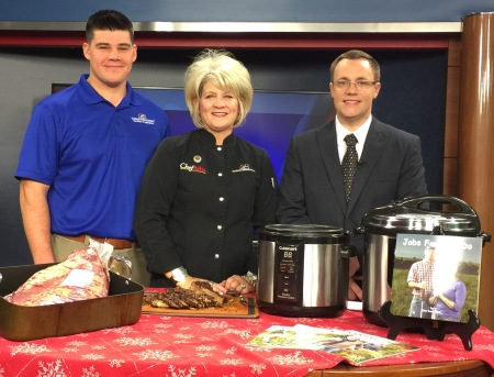 Brisket at WIBW | Chef Alli's Farm Fresh Kitchen