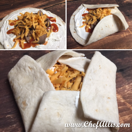 How to fold your Crunchy Quesadilla Wraps | Chef Alli's Farm Fresh Kitchen
