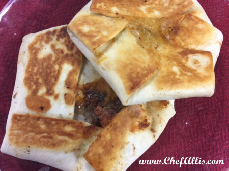 Crunchy Quesadilla Wraps | Chef Alli's Farm Fresh Kitchen