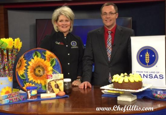 Sunny Sunflower Cake | Chef Alli's Farm Fresh Kitchen