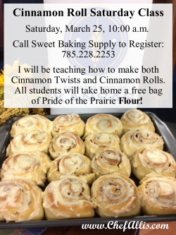 Cinnamon Roll Saturday | Chef Alli's Farm Fresh Kitchen