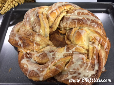 Cinnamon Roll Twist | Chef Alli's Farm Fresh Kitchen