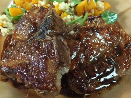 Lamb Chops and Pearled Sorghum | Chef Alli's Farm Fresh Kitchen