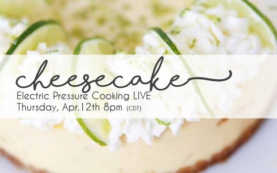 Cheesecake Live   Chef Alli
