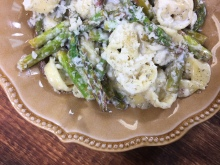 Lemon Asparagus Tortellini | Chef Alli's Farm Fresh Kitchen