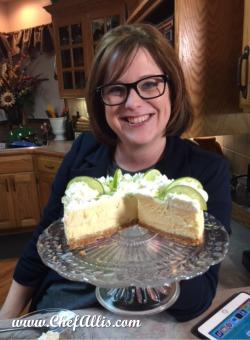 Laura's Key Lime EPC Cheesecake   Chef Alli